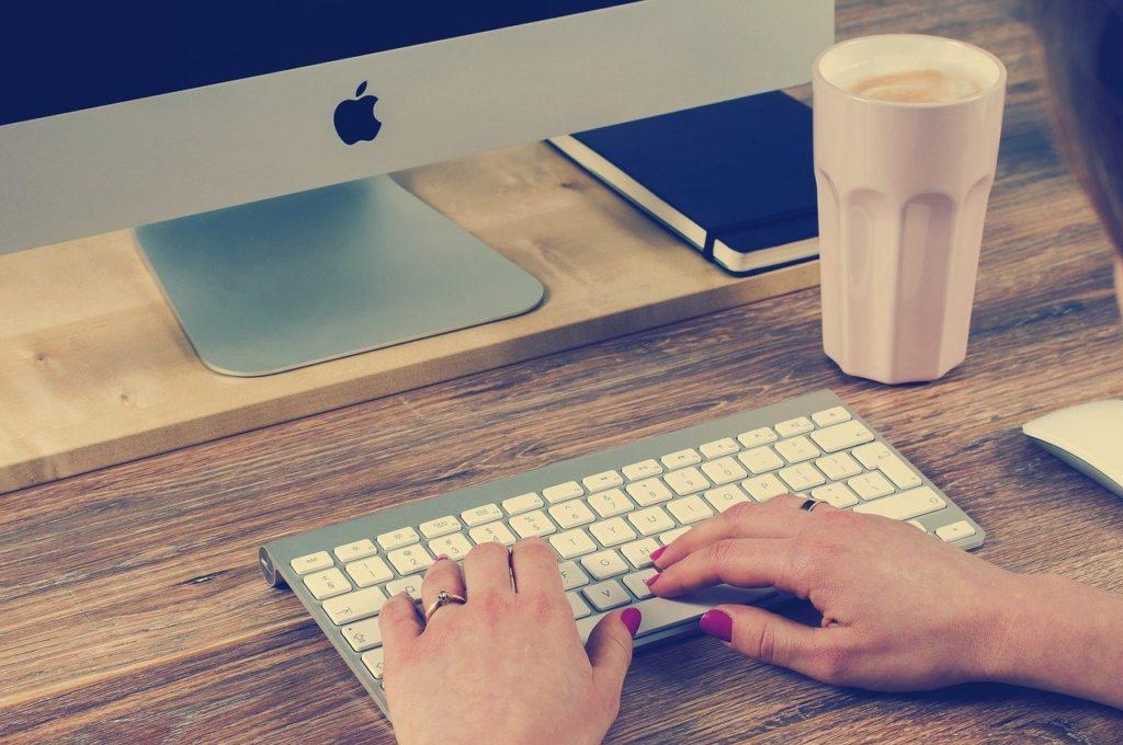 keyboard, typing, computer